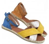 Italijanske kozne sandale ART-P349