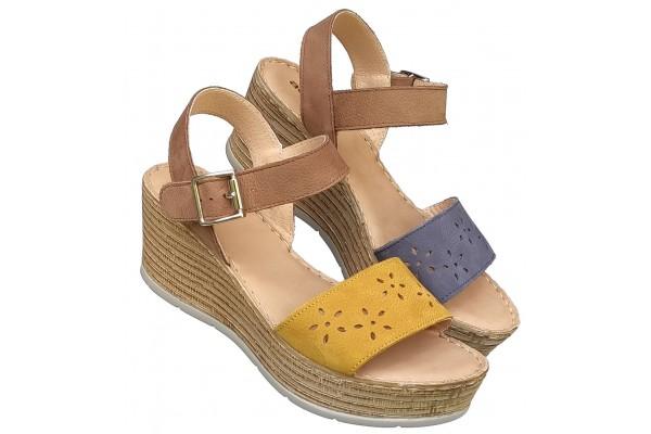 Italijanske kozne sandale ART-P683