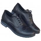 Zenska kozna duboka cipela ART-111