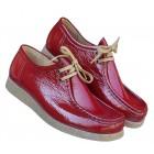 Sebago  ženske cipele - bordo lak