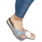 Zenske kozne anatomske papuce ART-21345