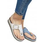 Zenske kozne anatomske papuce ART-21347