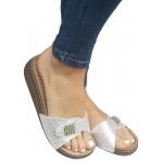 Zenske kozne anatomske papuce ART-D132