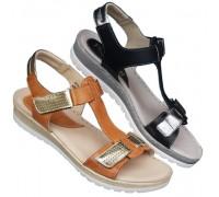 Italijanska kozna sandala ART-340065