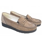 Zenska kozna cipela Art-12274velur