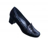 Kožna ženska cipela mokasina Art-2508-lak