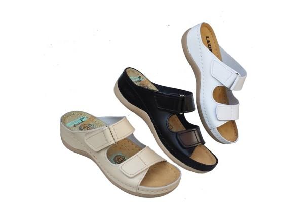 LEON zenske kozne papuce ART-905