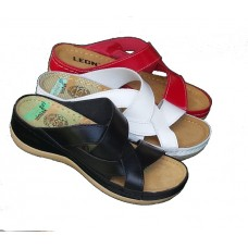 LEON zenska kozna papuca ART-910
