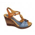Zenska kozna sandala na platou ART-274