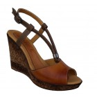 Zenska kozna sandala ART-280 braon